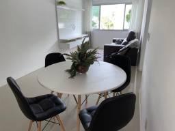 Apartamento Mobiliado com 02 dormitórios, 01 vaga de garagem, Nações, BC
