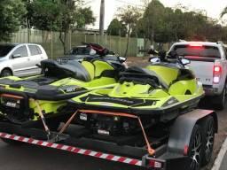 Carreta reboque para dois Jet ski