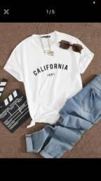 T-shirt Califórnia SHEIN