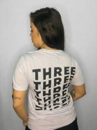 Camiseta Three Dorsal