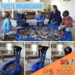 Tapete organizador de brinquedos