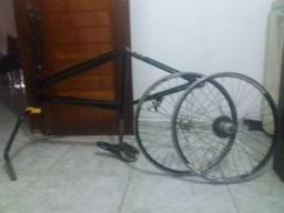 Bicicleta aro 24 com calha aero
