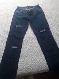 Calça jeans pra desapegar