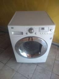 Máquina de lavar roupa LG 9 kg lava é seca