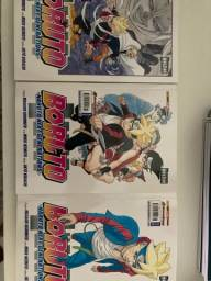 mangás boruto-volumes 2,3 e 5