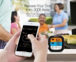 Termômetro Digital Culinário Espeto Sem Fio Bluetooth