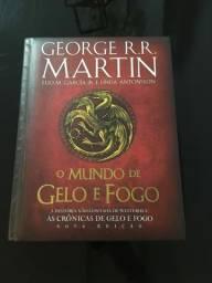 O Mundo de Gelo e Fogo + Brinde (Game pf Thrones)