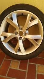 Jogo de rodas 17 com pneus