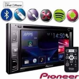 Dvd pioneer avh x2880bt, o melhor dvd em qualidade e equalização. Bem superior aos outros
