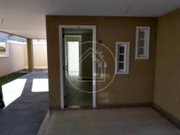 Casa de condomínio à venda com 3 dormitórios em Bandeira, Rio de janeiro cod:854303