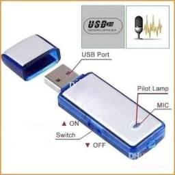 Título do anúncio: Pendrive gravador de voz usb voice recorder
