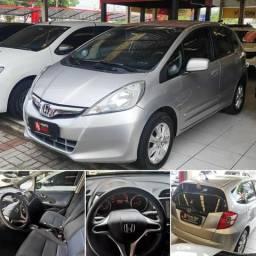 Honda Fit Prata 2014 Automático Baixo km - 2014