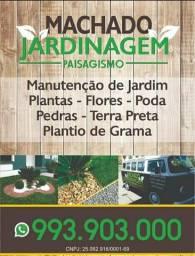 Jardinagem machado jardinagem