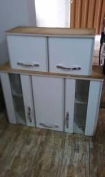 Dois armários cozinha