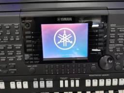 Teclado Yamaha Psr S750 61 Teclas Impecável Profissional