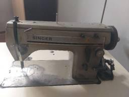 Máquina singer indústria de costura reta e bordado