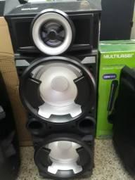 Caixa de Som Amplificada Multilaser Bluetooth 300w rms