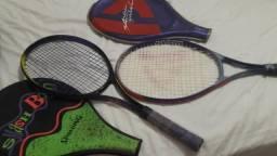 Raquetes de tênis seminovas