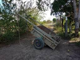 Vendo uma mula com carroça valor 2.100