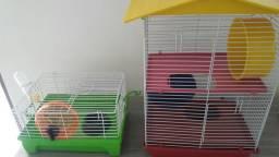 Vendo duas gaiolas de hamster