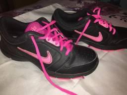 Tênis Original Nike Wmns Steady IX SL Preto e Rosa