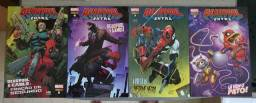 Combo HQ Deadpool Extra nº 01 ate 12