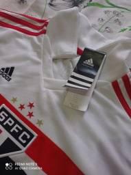 Camisa masculina infantil original SPFC
