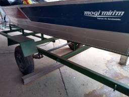 Barco de Alumínio -Sargo Mogi Mirin