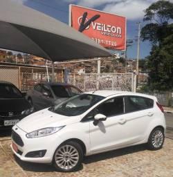 Fiesta 2015 1.6 Flex Titanium Hatch Branco Unico Dono