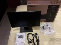 VENDO: Monitor Acer LED 21.5´ Widescreen, Full HD, HDMI/VGA/DVI - V226HQL<br>