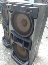 Caixa de som potente sony
