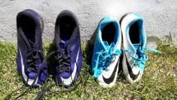 Chuteiras Nike - Oficial em bom estado.
