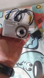 Camera samsung 10mpx bateria100%completa