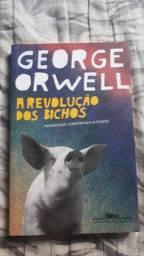 A revolução dos bichos  livro novo comprei mais nunca li