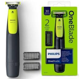 Barbeador Elétrico Philips OneBlade - Seco e Molhado 1 Velocidade Bivolt<br><br>