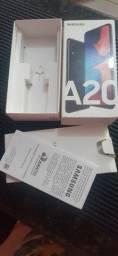 Caixa do Samsung A20