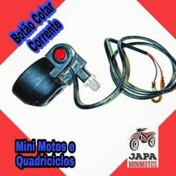 Botão Corta Corrente Mini Motos e Quadriciclos 49cc/2t