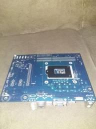 Vendo placa mae 1155 com defeito e um processador g440 funcionando