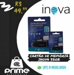 Cartão de memória Inova + Adaptador