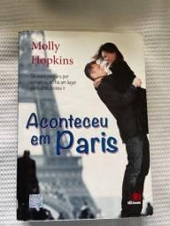 Livro Aconteceu Em Paris - Molly Hopkins