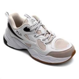 Tenis Fila Speed Trail Masculino - Branco+Preto - original
