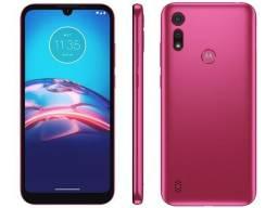 Smartphone Motorola Moto E6S 32gb Pink 4G -2gb 6,1? Câm. Dupla + Selfie 5MP
