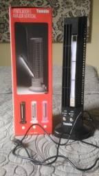 Mini Ventilador de Torre com Luminária