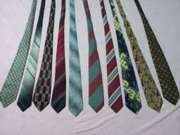 Conjunto de 10 gravatas