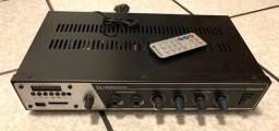 Amplificador Slim 2000 c/ 2 Caixas de Som