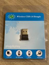 Mini Adaptador Bluetooth Usb Csr 4.0 Conector Pc Windowsa