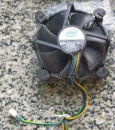 Cooler para processador Intel com dissipador (Usado)