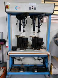 Máquina hidráulica de prensar sola