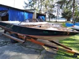 Título do anúncio: Lancha de Madeira Max Boat