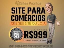 Título do anúncio: Sites para comércios
